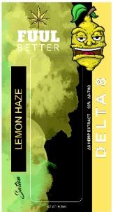 Delta-8 1000MG Lemon Haze Disposable (SATIVA) FUUL BETTER