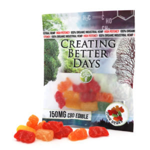 150MG Sour Gummy Bears (10 Pieces)