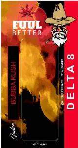 Delta-8 1000MG Bubbah Kush Disposable (SATIVA) FUUL BETTER