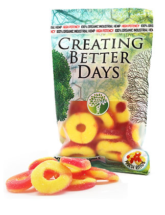 300MG Peach Rings (20 Pieces)