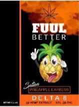 Delta-8 1000MG 1ML Pineapple Express (Sativa) Cart FUUL BETTER