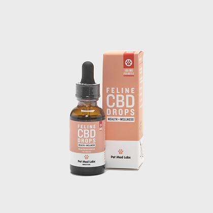 FELINE CBD DROPS Pet Med Labs