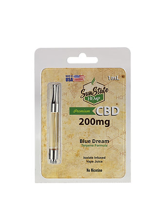 Pre-Filled Cartridge 1ml - Blue Dream 200mg