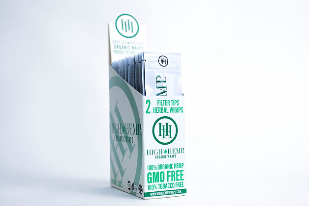High Hemp Organic Wraps (25 packs)