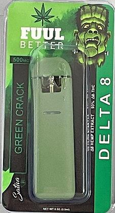 Delta-8 500MG Green Crack Disposable (SATIVA) FUUL BETTER