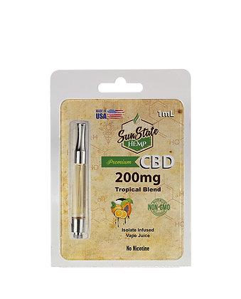 Pre-Filled 1ml Cartridge - Tropical Blend 200mg