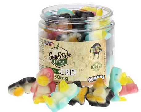 Gummy Penguins 750mg Melatonin Sunstate Hemp