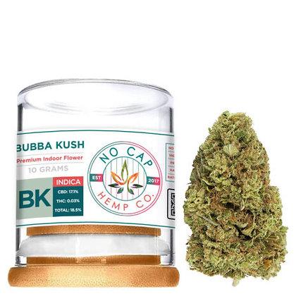 Premium CBD Bubba Kush 10 GRAM FLOWER