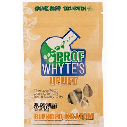 30 Count Uplift Kratom Capsules Prof Whytes