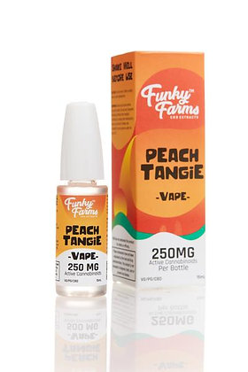 250MG Peach Tangie CBD Vape Juice