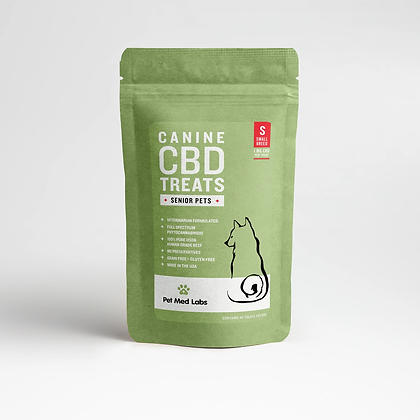 CANINE SENIOR CBD TREATS: Small Breed Pet Med Labs