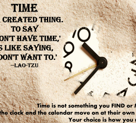 "The Stress of ""I Don't Have Enough Time!"" And it's Simple Solution."