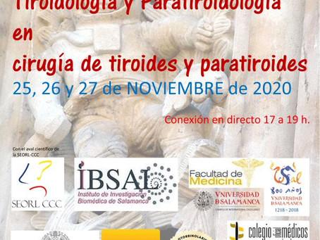 Curso Bases de Tiroidología y Paratiroidología