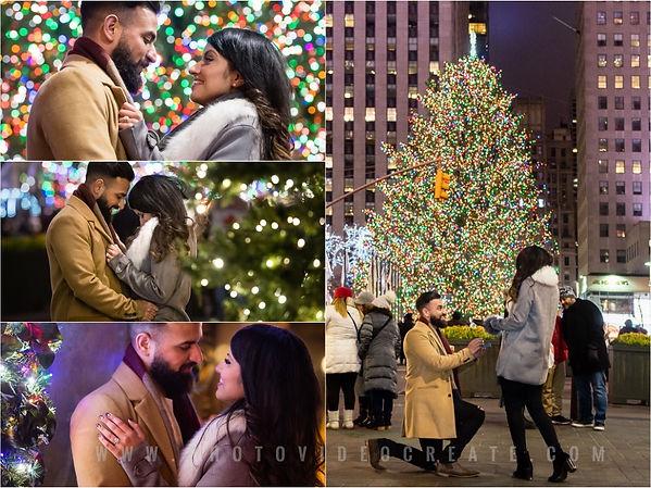 Christmas Tree at Rockefeller Center-Pho