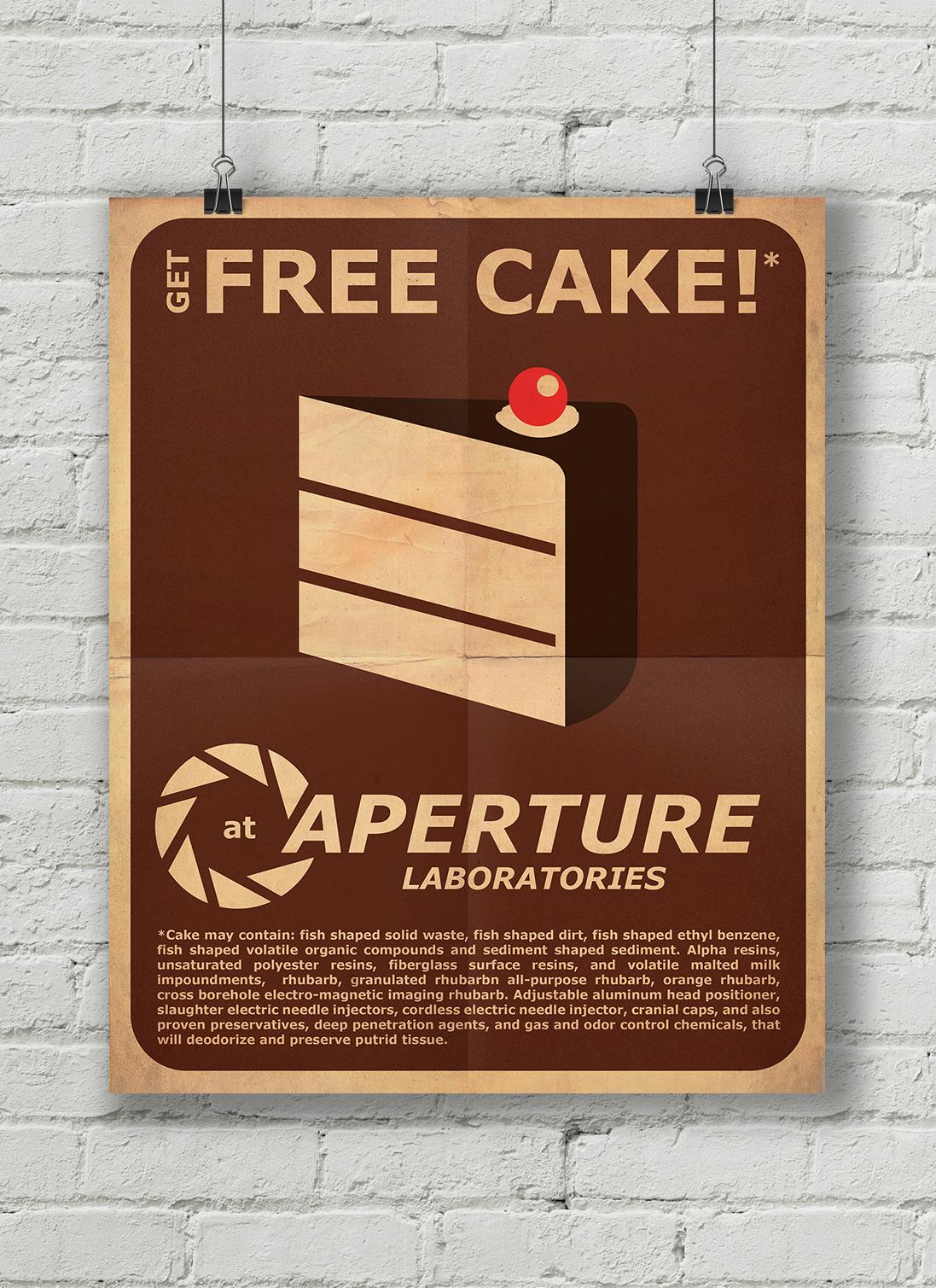 New free cake mock