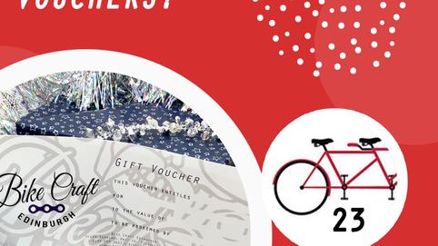 Bike Craft's Christmas Advent Calendar Day 23!