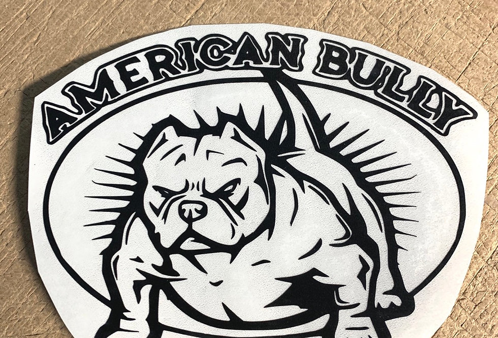 American Bully Decal