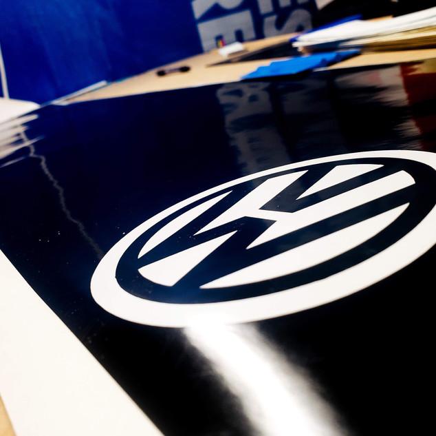 VW Window Banners