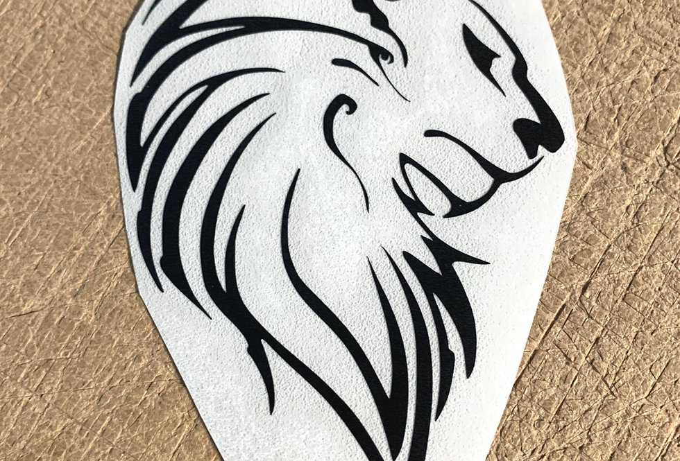 Lion Head Decal
