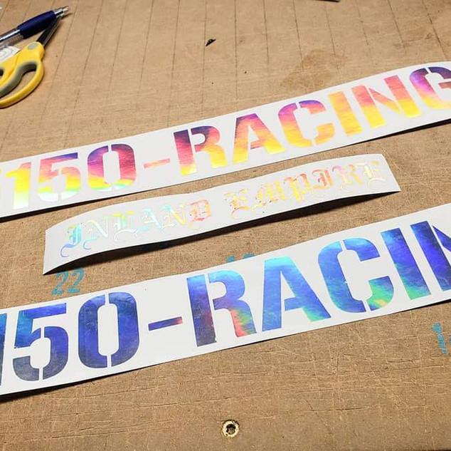 Neo Chrome 5150 Racing Decals