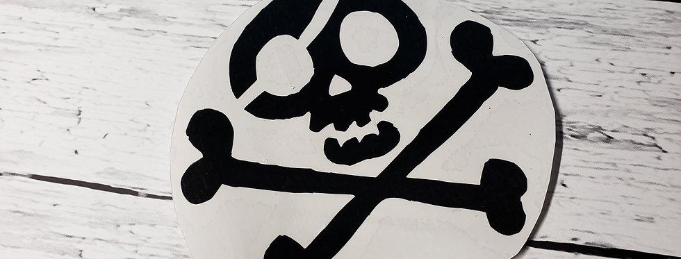 Cartoony Skull N Bones