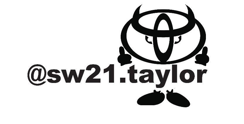 Toyota Devil Buddy IG Decal