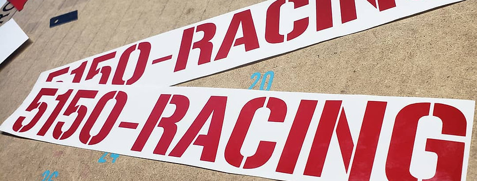 5150-RACING Decal
