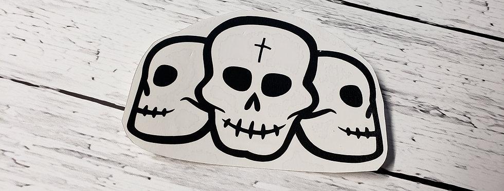 3 Halloween Skulls