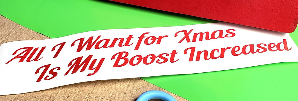All I Want for Xmas Boost!