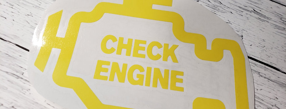 Check Engine Light W/Text