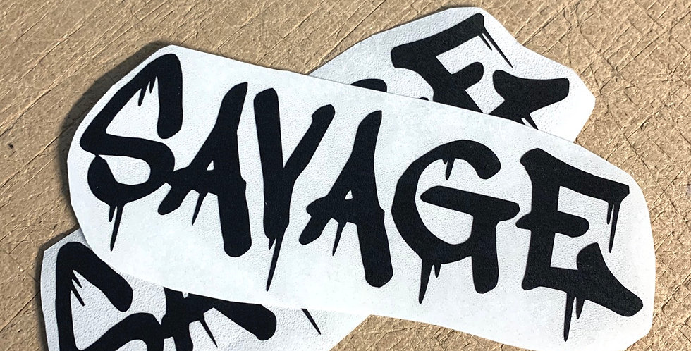 Savage (Dripping) Decal