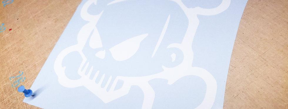 3D Skull-N-Cross Bones