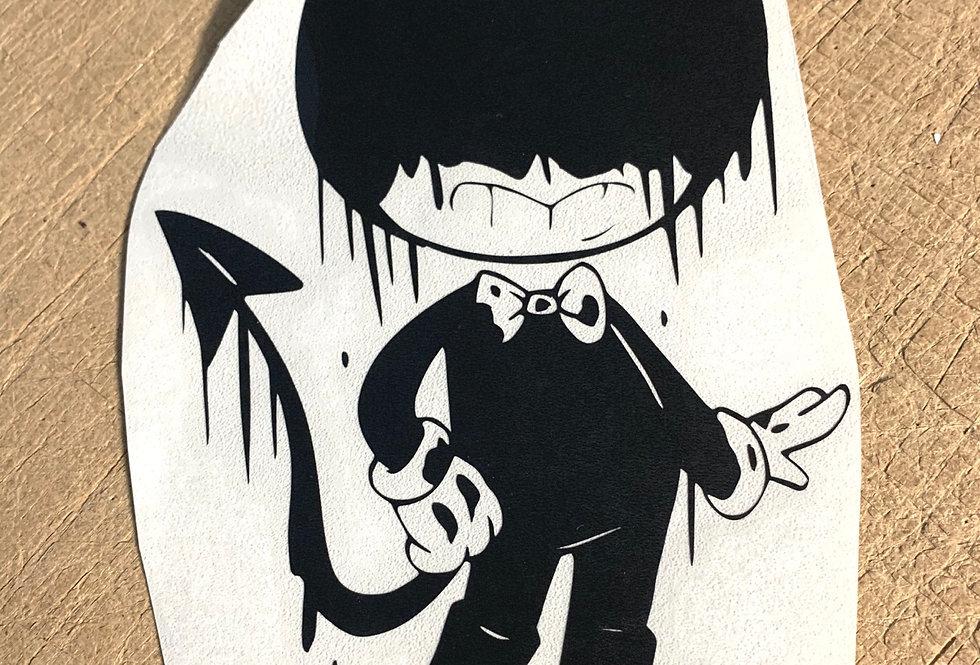 Devilish Bendy Decal