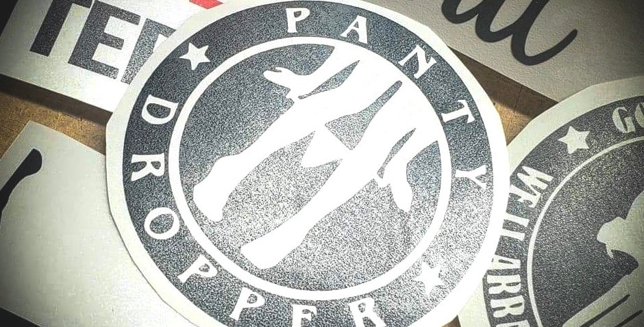 Panty Dropper Badge Decal