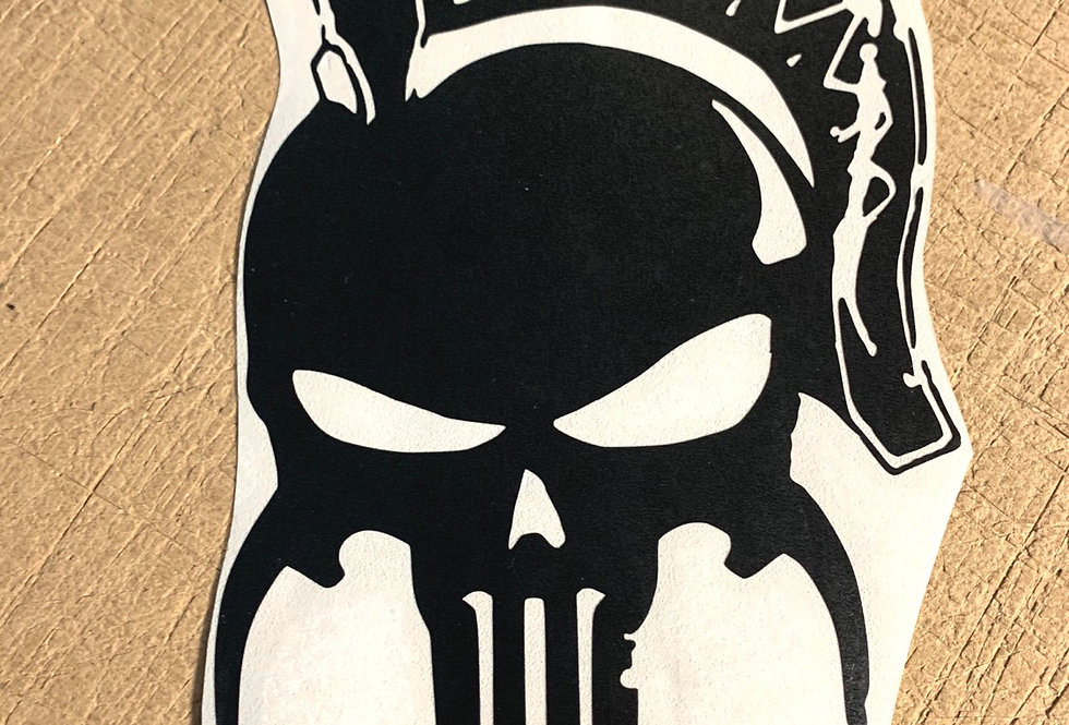 Roman Punisher Skull
