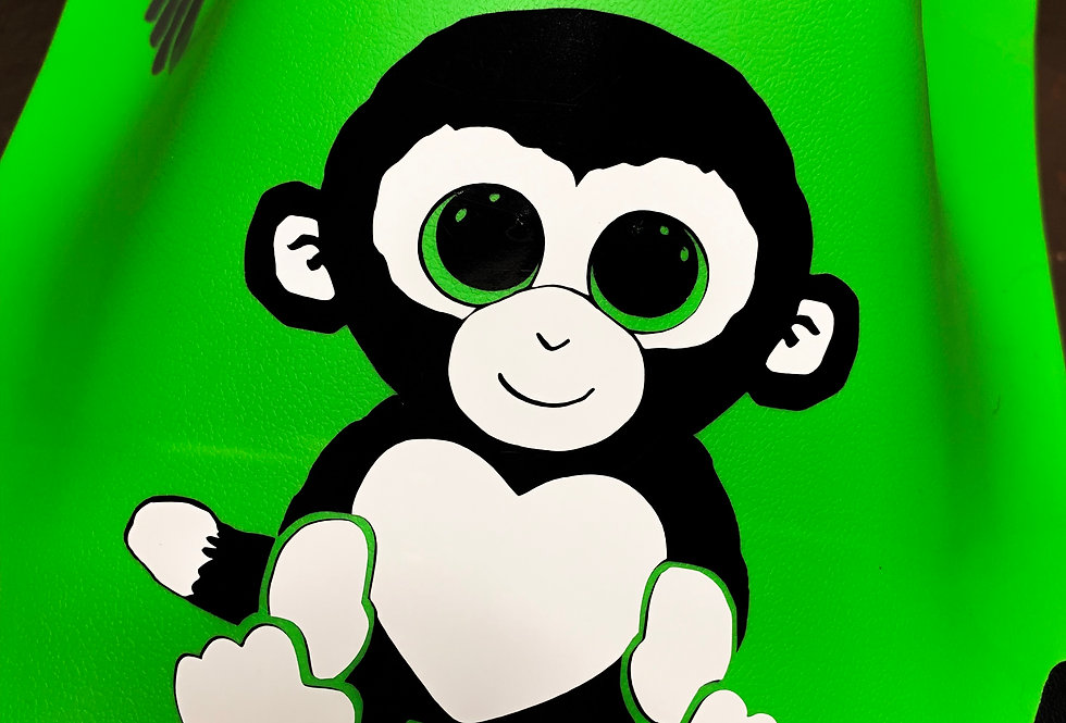 Baby Monkey Decal
