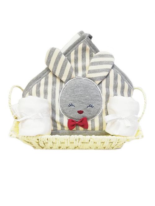 Sevimli Tavşancık Bebek Hediye Sepeti