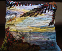 Cushion- Palm at Sunset