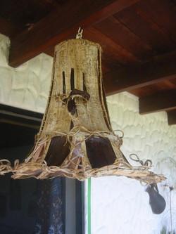 Hanging lamp and shade