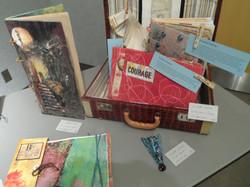 Books display,L.E Shore Library
