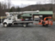Professional tree removal equipment from Northwest Tree Service