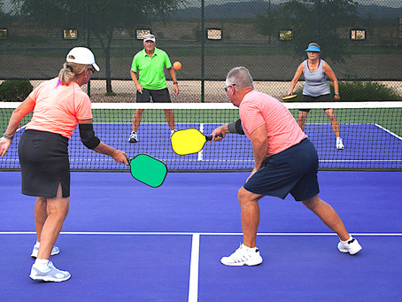 Pickleball Draws Countless Folks Over 50 for A New Way to Stay Active