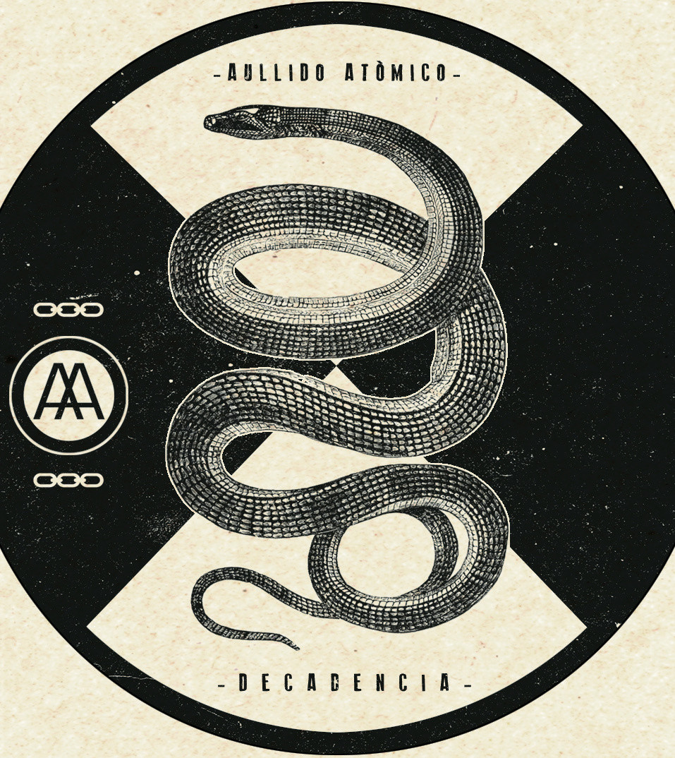 Galleta LP AULLIDO ATOMICO -Decadencia-