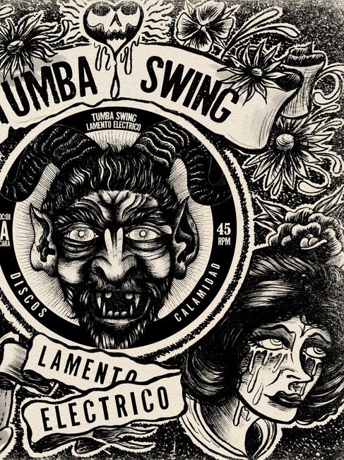 "Portada 7"" TUMBA SWING -Lamento Electrico-"