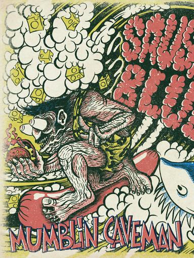 Portada LP MUMBLIN CAVEMAN - Sausage Blues-