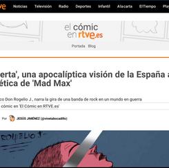 El cómic en RTVE.es