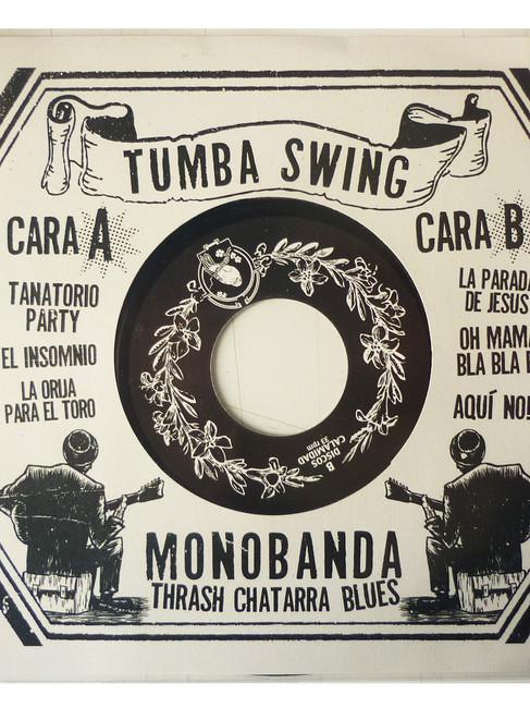 """Portada 7"""" TUMBA SWING"""