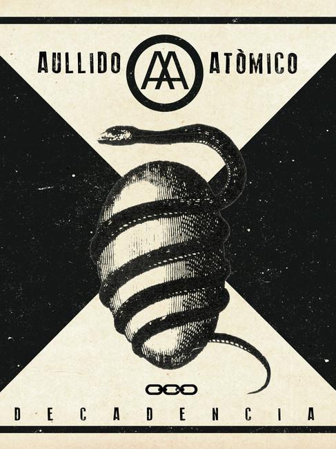 Portada LP AULLIDO ATÓMICO -Decadencia-