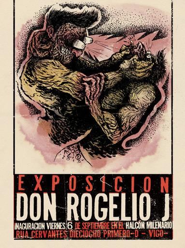 Cartel Exposición HALCÓN MILENARIO