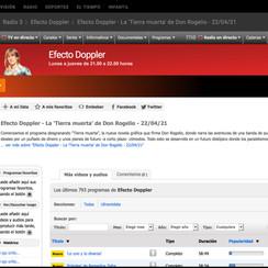 Efecto Doopler Radio3